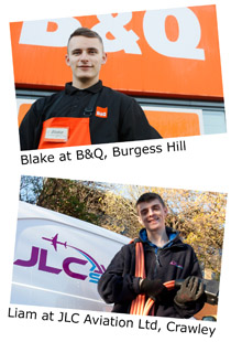 Blake at B&Q, Burgess Hill.